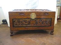Japanese Camfora Wood Chest