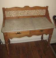 Victorian Dressing Table Marble Top