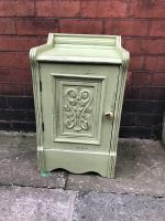 Edwardian Hand Painted Cupboard