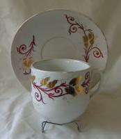 Novelty cup and saucer