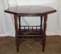 Late victorian octagonal table