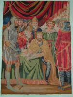 Needlework tapestry of the Magna Carta