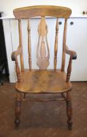 Beech carver chair