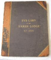 Liverpool Masonic Lodge book 1893